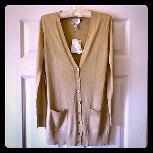 Talbots Italian yarn shimmer sweater Size S